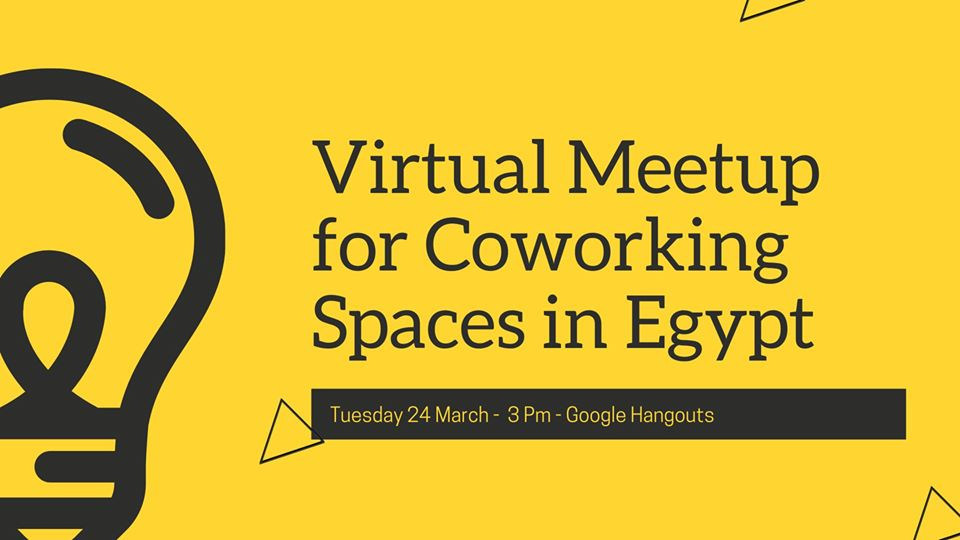 Virtual Meetup For Coworking Spaces In Egypt
